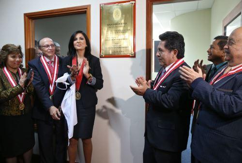 Inauguran fiscalías especializadas contra la trata de personas. Foto: ANDINA/Oscar Farje