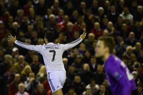 "Cristiano Ronaldo anotó el primero para los ""merengues"""