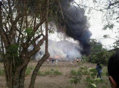 Incendio en Universidad Nacional Agraria La Molina.