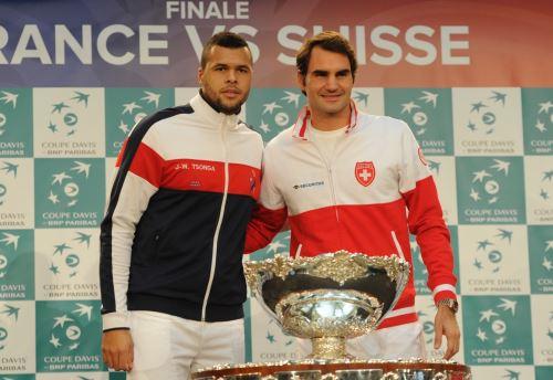 Tsonga y Federer