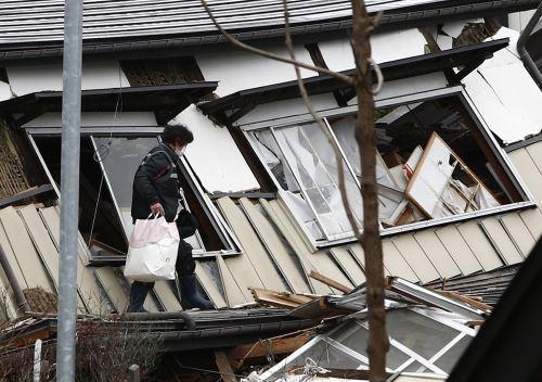 Fuerte sismo en prefectura de Nagano, en el centro de Japón, deja cerca de 40 heridos. AFP