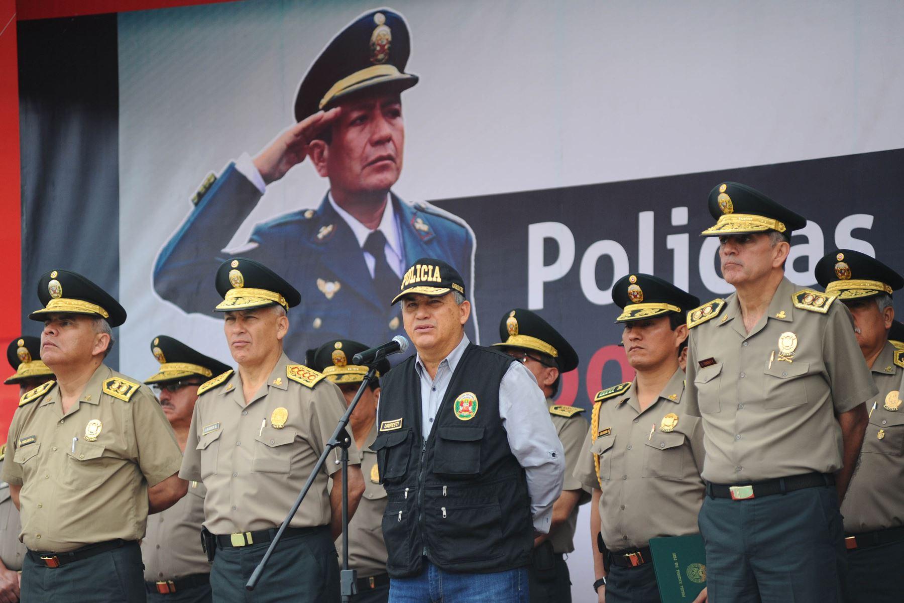 Ministro del Interior, Daniel Urresti. Foto: Andina/Difusión