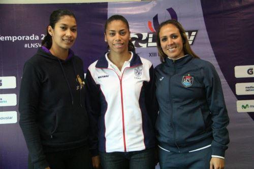 Mirtha Uribe (Alianza Lima), Milka Da Silva (USM) y Milagros Moy (UCV) asoman como figuras del certamen