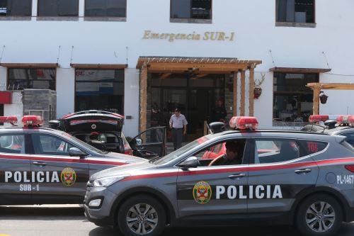 Esta sede policial sería cerrada para dar paso a oficinas del Banco de la Nación. Foto. ANDINA/Vidal Tarqui