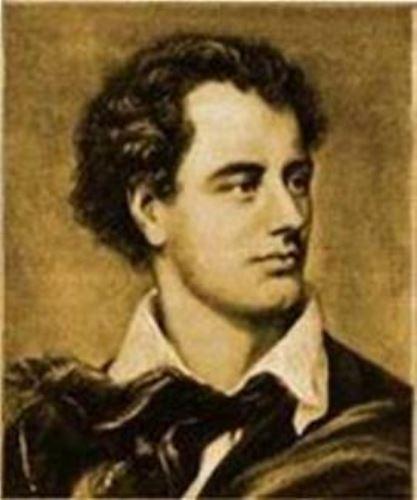 Poeta Lord Byron. Internet/Medios