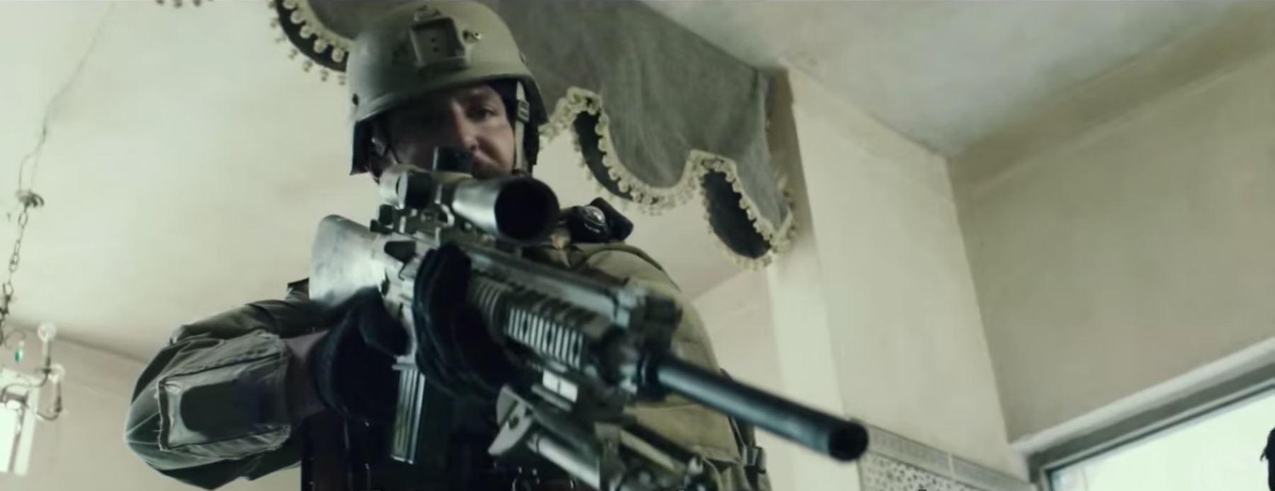 Escena de American Sniper, El francotirador