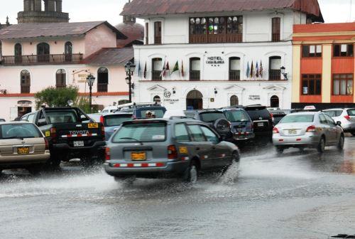 Evalúan declarar en emergencia situacional a Cajamarca por lluvias. Foto: ANDINA/Eduard Lozano.