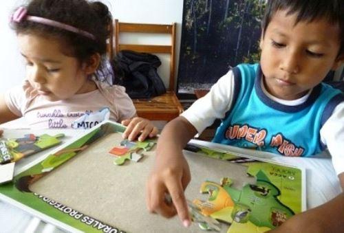 Preparan a niños y adolescentes para ser miniguías de Reserva de Tambopata. Foto: ANDINA/Difusión.