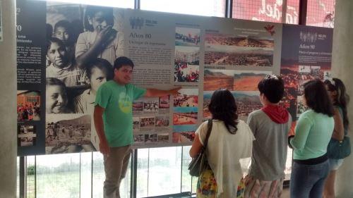 Museo comunitario Ruricancho en parque zonal Huiracocha de SJL. Foto: Andina/DIfusión