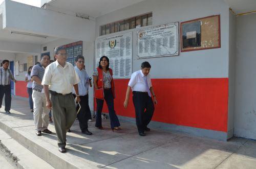 La Dirección Regional de Educación de Lima Metropolitana – DRELM, lleva a cabo la jornada de supervisión de instituciones educativas de la capital. Difusión
