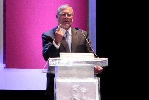 Preasidente de Transparencia Internacional, José Ugaz. ANDINA/Difusión