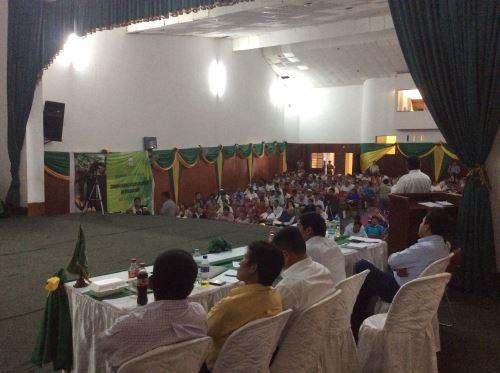 PCM organiza mesa de trabajo de productores en el Huallaga.