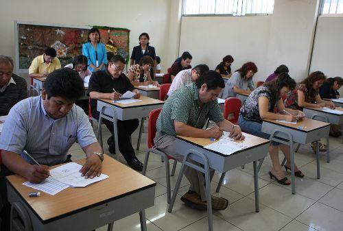 Nuevas fechas tienen los concursos de nombramiento y contratación docente. Foto: ANDINA/Difusión