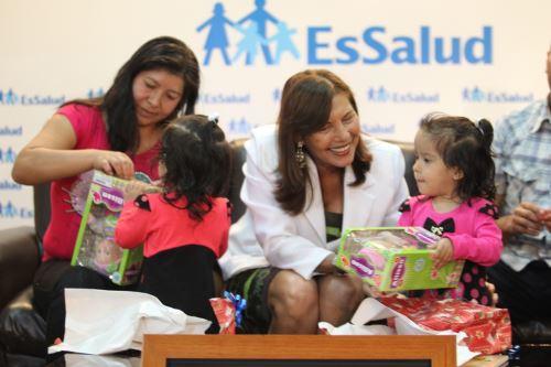 A dos años de proeza médica en EsSalud. Foto: Difusión.