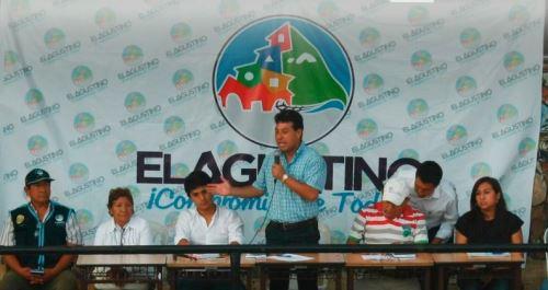 Alcalde de El Agustino, Richard Soria, denuncia que su antecesor dejó una millonaria deuda con los trabajadores ediles por concepto de remuneraciones y beneficios sociales impagos.