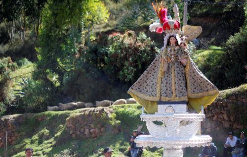 Culminó trabajo de restauración de la imagen de la Virgen Purificada de Cusco, una de las más antiguas de la iglesia Católica cusqueña. ANDINA/Percy Hurtado