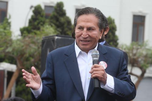 ANDINA/Vidal Tarqui El expresidente Alejandro Toledo reiteró su deseo de ser candidato en los comicios generales venideros.
