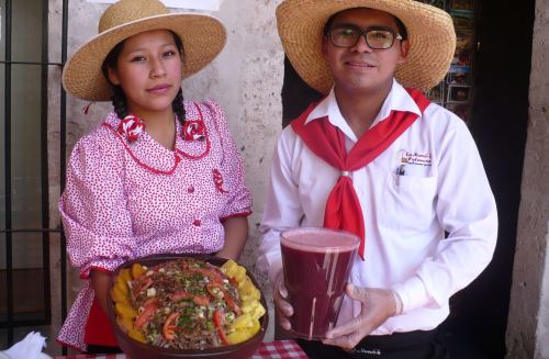 Las principales picanterías de Arequipa ofrecerán lo mejor de la cocina local en Fiesta de la Chicha. ANDINA/Rocío Méndez