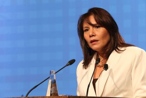 Ministra de la Desarrollo e Inclusión social, Paola Bustamante