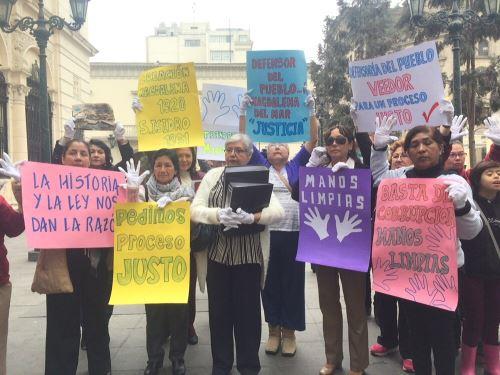 Vecinos piden intervención de Defensoría del Pueblo. Foto: Difusión