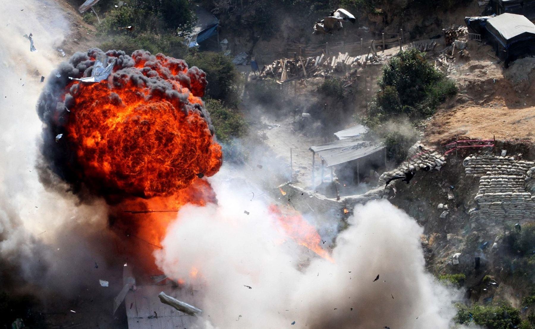 Operativo permitió destruir 68 motores, además de equipos y suministros utilizados en la minería ilegal.
