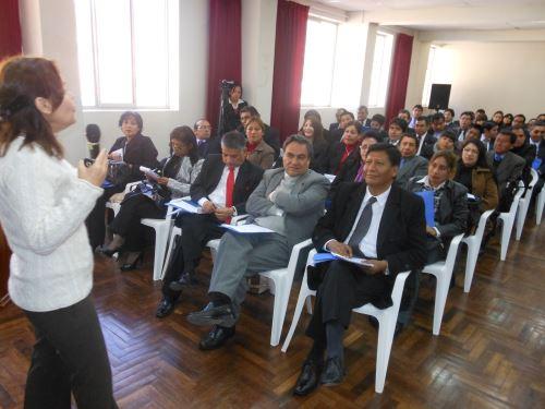 Actividad la organizó Escuela del Ministerio Público.