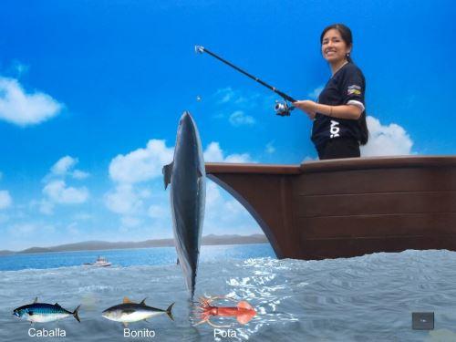El visitante vive la experiencia de ser pescador por un día. Foto: Difusión