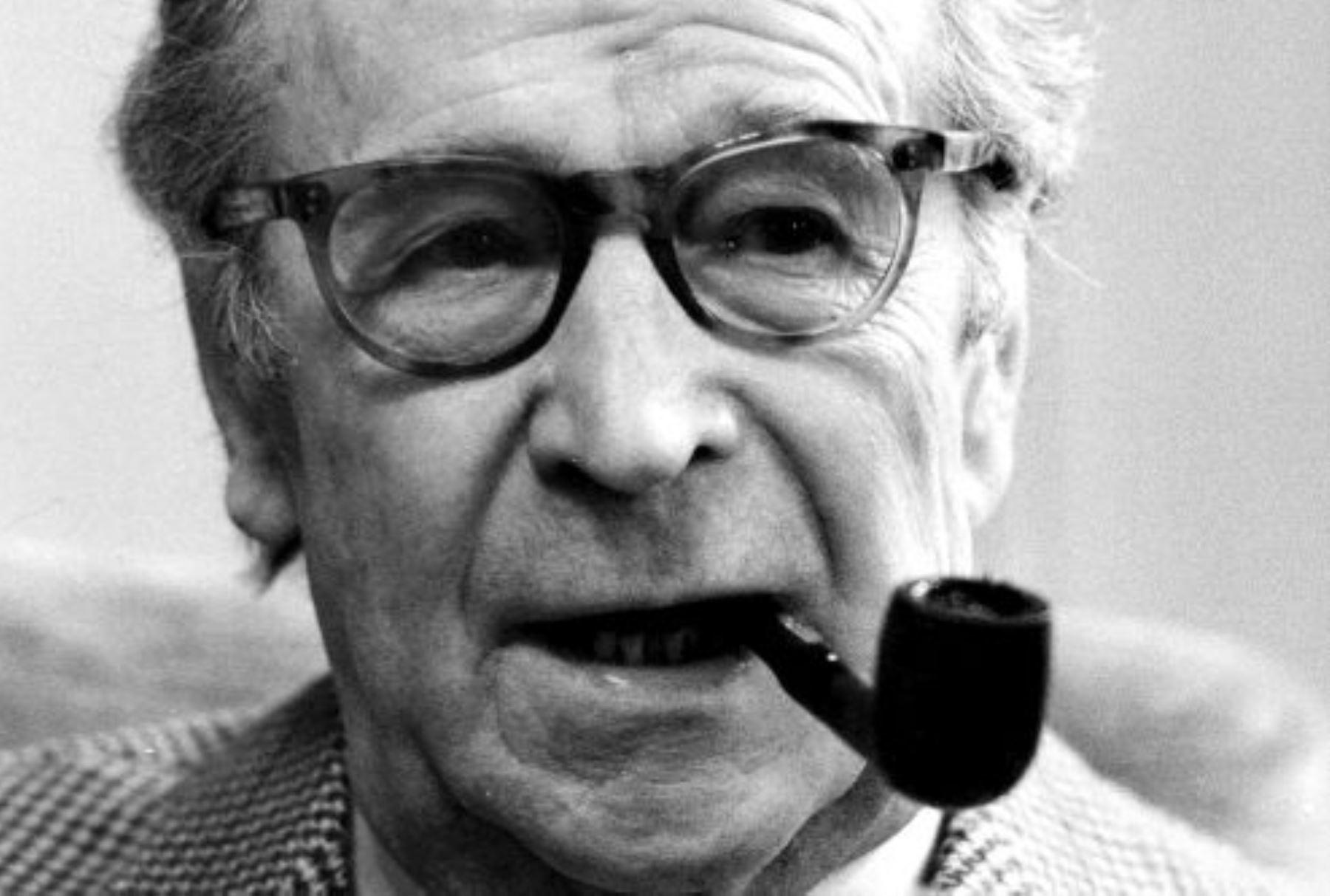 Escritor belga Georges Simenon. INTERNET/Medios