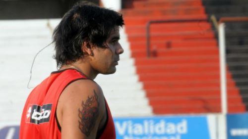 Diego Jara, Víctima de asalto de barrabrava de su propio club. Foto: INTERNET/Medios