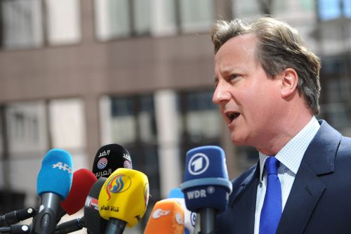 David Cameron, Primer Ministro del Reino Unido. Foto: AFP