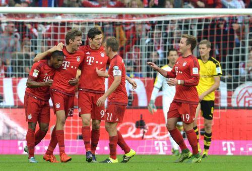 Bayern se afianza en la Bundesliga