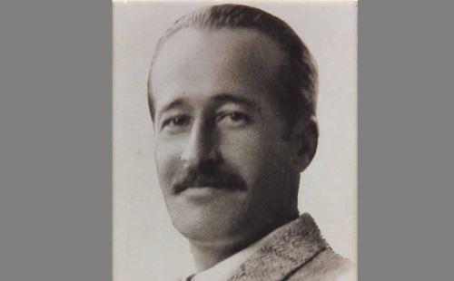 Escritor argentino Ricardo Güiraldes. ANDINA/Difusión