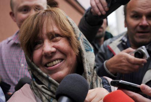 Svetlana Alexievich, premio Nobel de Literatura