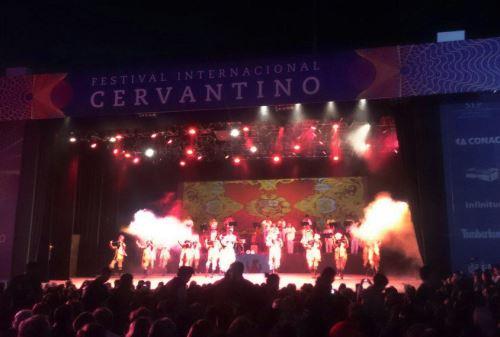 Folclore del Perú en la inauguración de la edición 43 del Festival Internacional Cervantino
