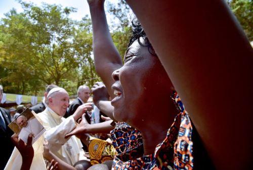 El papa Francisco visita la República Centroafricana. AFP