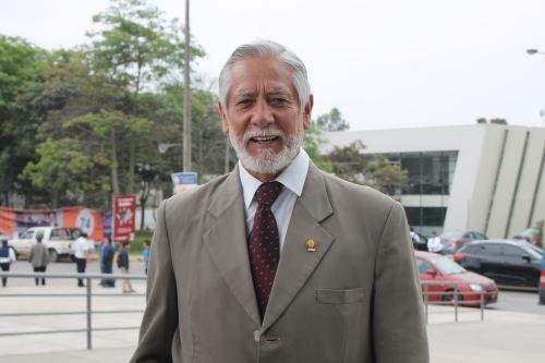 Javier Arrieta, decano del Colegio de Ingenieros de Lima. Foto: Andina/Difusión
