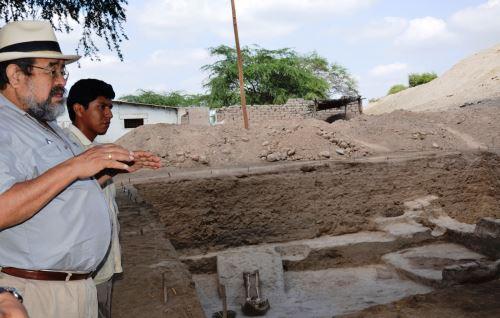 Walter Alva resalta necesidad de realizar investigaciones arqueológicas en Lambayeque.