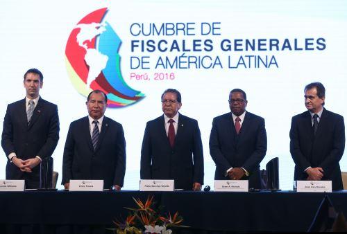 Cumbre de Fiscales de América Latina