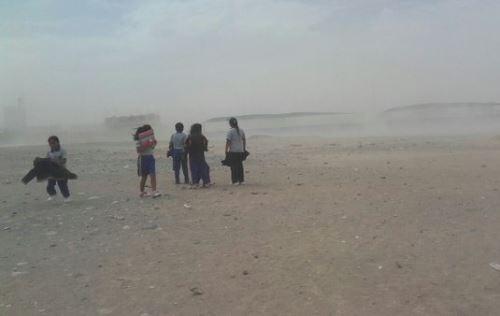 vientos intensos en costa de Ica