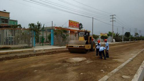 Se ejecutarán diversas obras de mejoramiento urbano en Independencia.