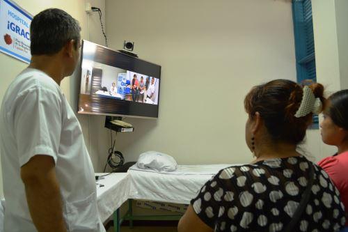 Con servicio de Telemedicina mejorará atención a las poblaciones alejadas de Loreto.
