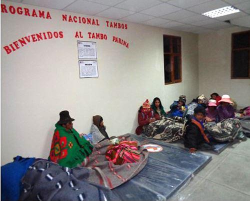 Programa Tambos amplía su atención a pobladores de zonas rurales.