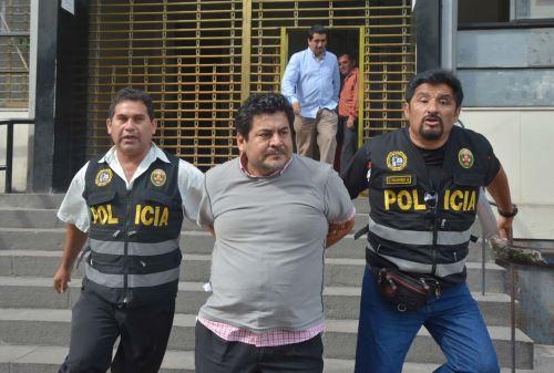 Edwin Luyo Barrientos, detenido por el caso Odebrecht