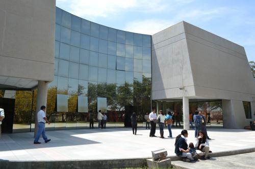 Destacan incremento de visitantes al Museo Nacional de Sicán.