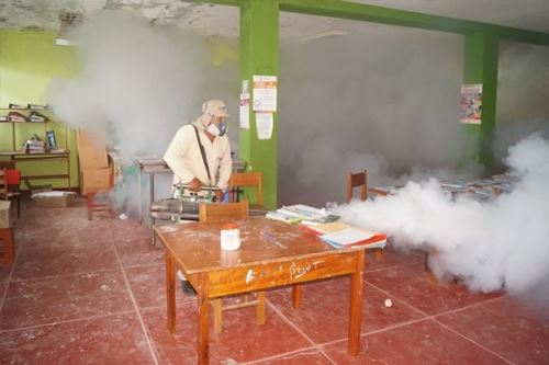 Fumigación en Tumbes