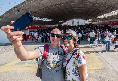 Tacna recibe la visita de un gran número de turistas