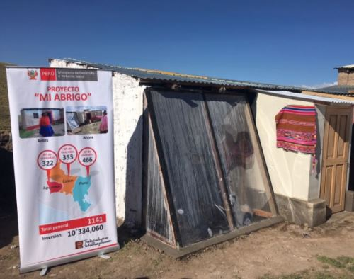Segunda etapa de proyecto Mi Abrigo llega a Huancavelica, Arequipa, Tacna y Moquegua.