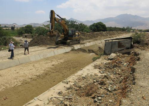Con modernización del sistema de riego se evitarán más filtraciones en Chinecas.