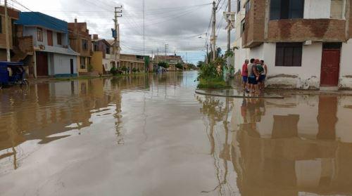 Chiclayo fue una de las ciudades más afectadas por las lluvias intensas.