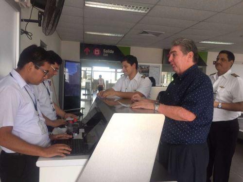 Migraciones Extiende Control Migratorio Al Aeropuerto De